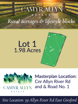 Lot 1 - Camyr Allyn Estate