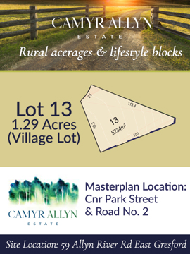 Lot 13 - Camyr Allyn Estate