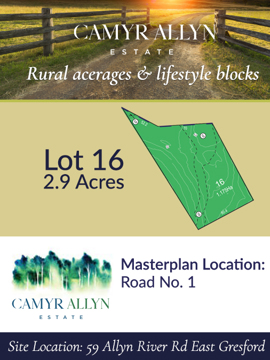 Lot 16 - Camyr Allyn Estate