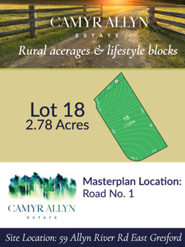 Lot 18 - Camyr Allyn Estate