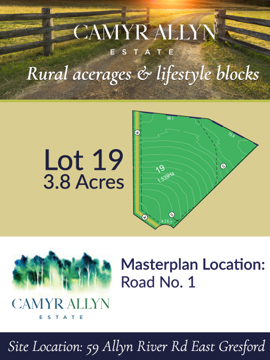 Lot 19 - Camyr Allyn Estate