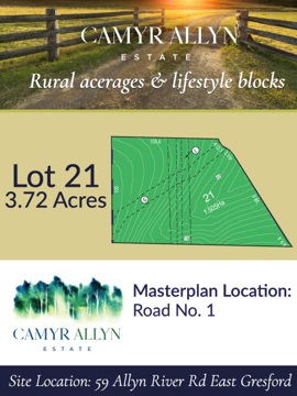 Lot 21 - Camyr Allyn Estate