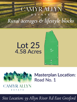 Lot 25 - Camyr Allyn Estate