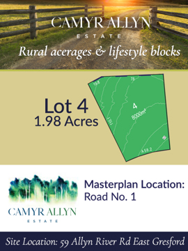 Lot 4 - Camyr Allyn Estate