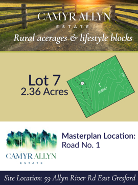 Lot 7 - Camyr Allyn Estate