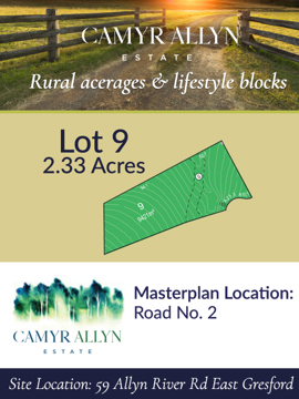Lot 9 - Camyr Allyn Estate