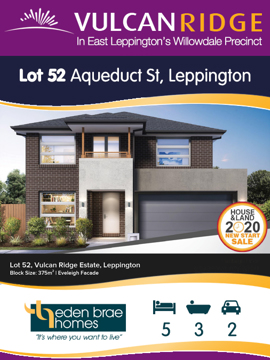 Lot 52 Aqueduct St ***UNDER OFFER***