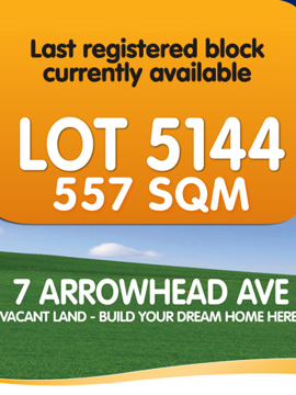 Lot 5144 Leppington 7 Arrowhead Ave