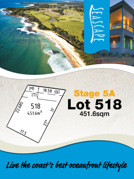 Lot 518 - Seascape Village